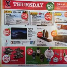 AAFES Exchange Black Friday Ad