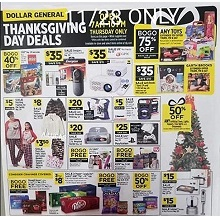 Dollar General Black Friday Ad