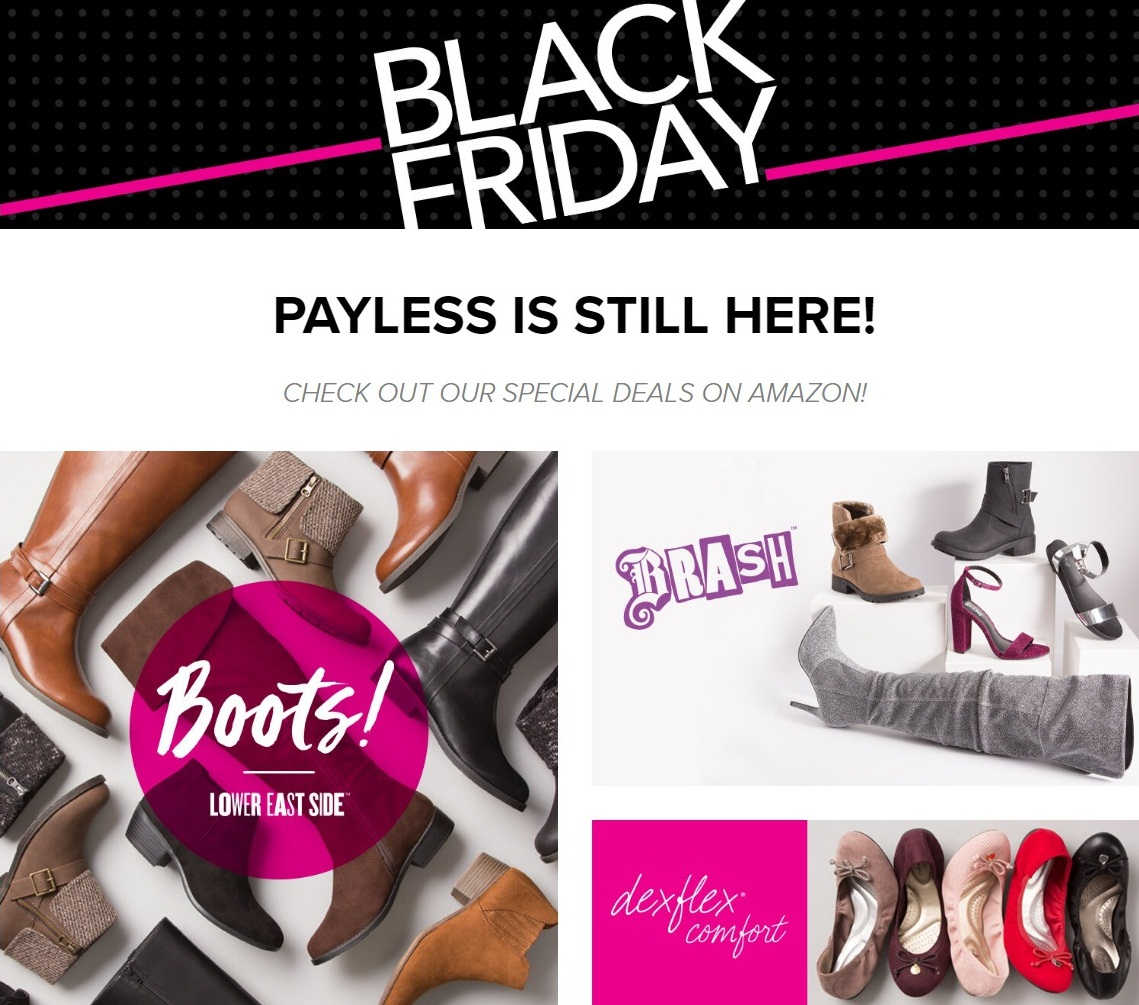 Payless Shoes Black Friday 2020 Ad, Deals and Sales