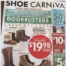 Shoe Carnival Black Friday Ad